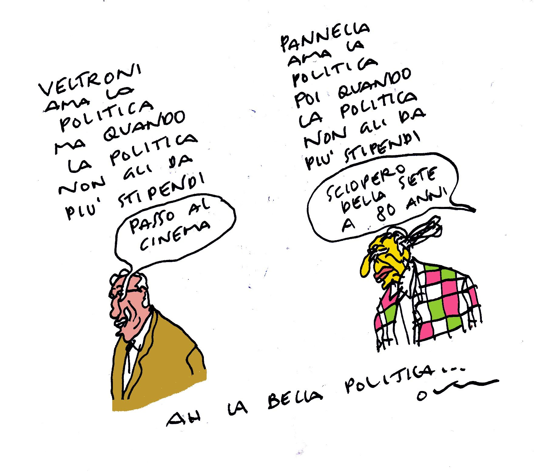 amantik della politica