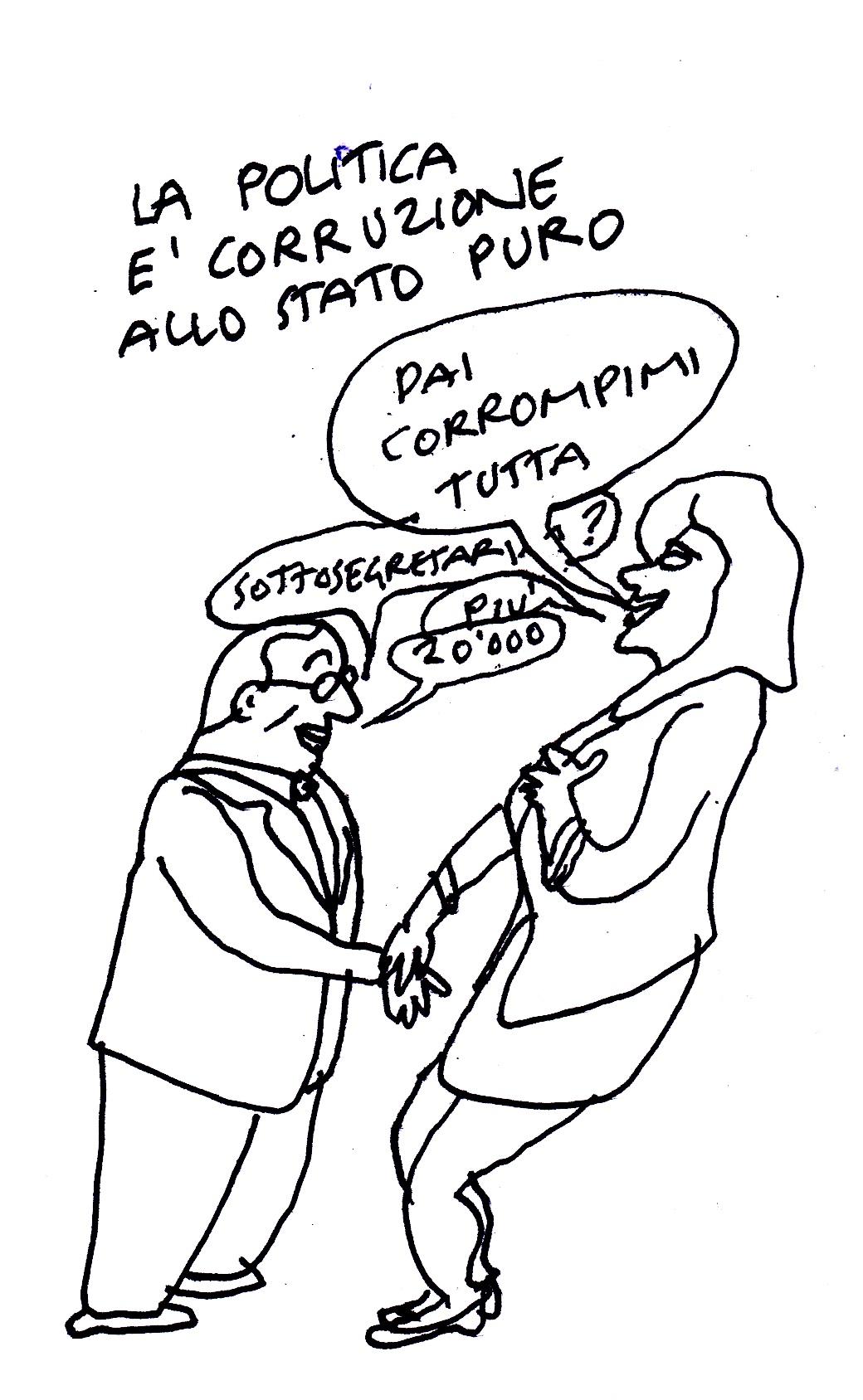politica corruzione stato puro