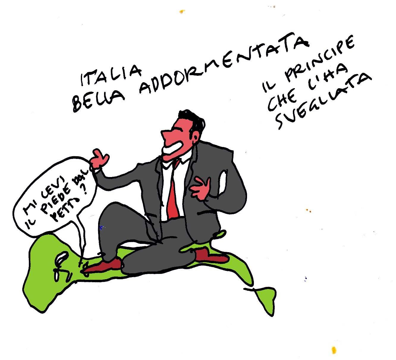 italia addomesticata addormentataK