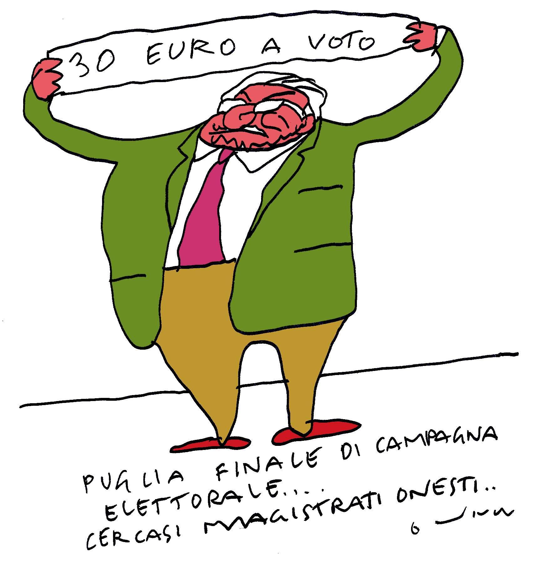 30 euro a votok