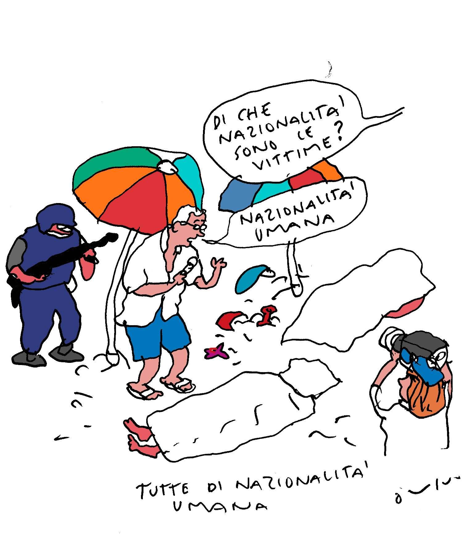 nazionalità vittimek