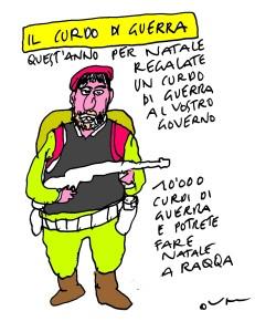 curdo di guerrka