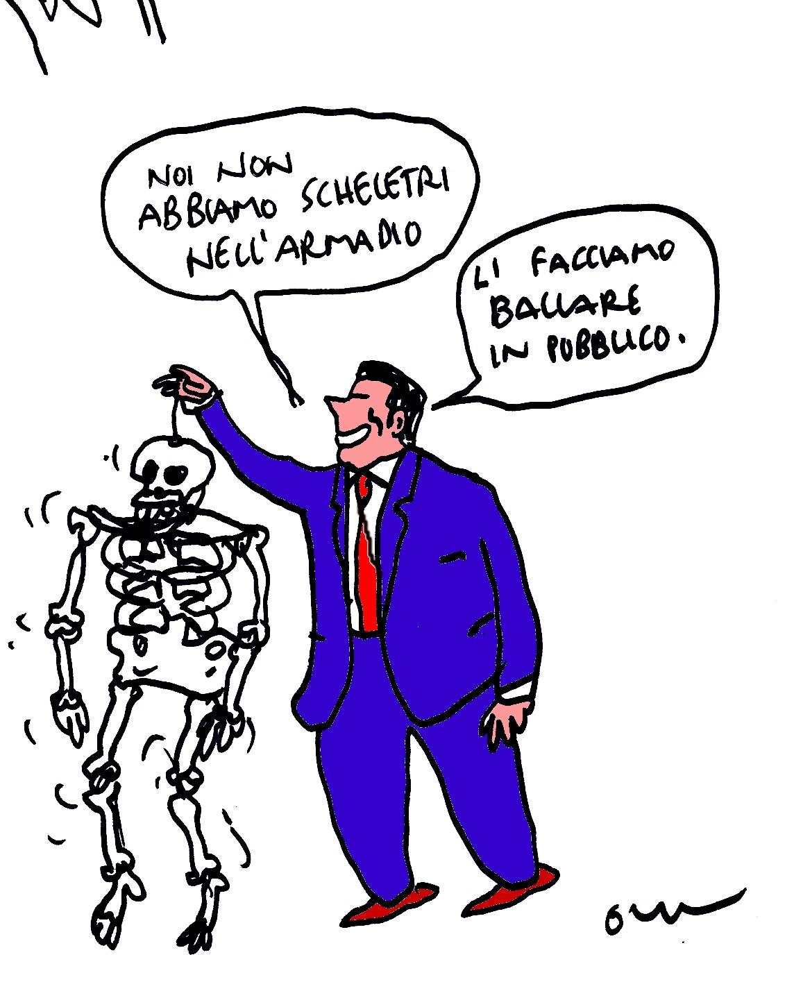 scheletri fuori armakdi