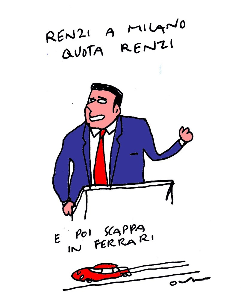 renzi quota ferrarki